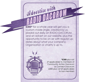 radio dacorum small