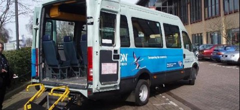 Sponsorship of Community Wheels Minibus by Epson Ltd