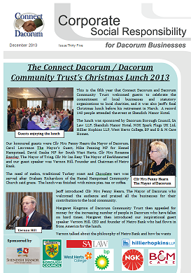 Dec Newsletter front page